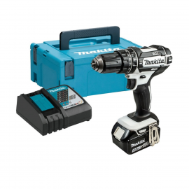 Makita DHP482T1JW 18V Cordless Combi Drill with 1 x 5.0Ah Battery and Charger